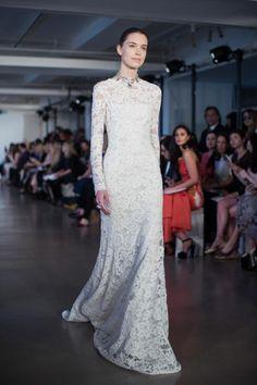 Oscar de la Renta Bridal Spring 2017 / Wedding Style Inspiration / LANE