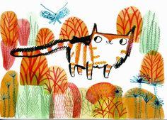 ilustración de Gwen Millward