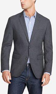 The Academy Blazer Slim - Solid Lining - Dark Grey