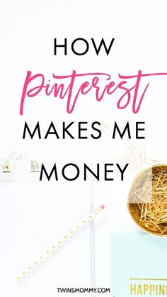How Pinterest Helps Me Make Money – No promoted pins used. This is how I ended up making money using Pinterest and only after one month of using Tailwind too.