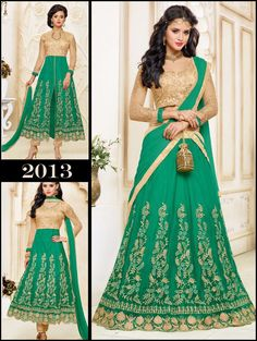 Anarkali Kameez Designer Salwar New Bollywood Suit Dress Indian Ethnic Pakistani #KriyaCreation #LehengaStyleSuit