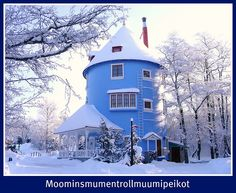 #ridecolorfully in winter: Hibernating place of the Moomins by Pjotr I, via Flickr