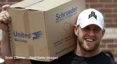 With Hurricane Harvey causing a lot of stress and displacement in Texas, it was cool to see that Pewaukee native, JJ Watt (from my high school) became nationally known for his fundraising efforts. While it was JJ Watt whose headlines went viral, I wonder how many months it will take for Texas to rebuild itself. Where does the love and support come from? Empathy of others? Where did this hurricane come from - was this a cause from global warming?