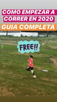 Como empezar a correr! Running Training, Running Tips, Trail Running, Runners Guide, Running For Beginners, Taco, Weight Loss Plans, Ways To Lose Weight, Physics