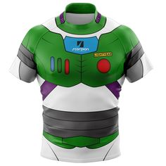 Themed Buzz Lightyear Rugby Shirts from Scorpion Sports, ideal for rugby tour or social events.