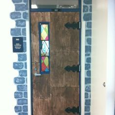paper made medieval classroom decor - Google Search