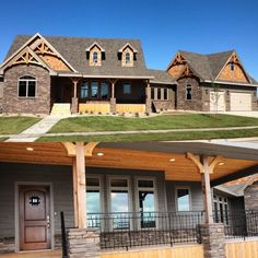 Architectural Designs House Plan 16807WG built in South Dakota. 3 beds and almost 1,700 square feet of living. Great job by Triad Construction. Ready when you are. Where do YOU want to build?