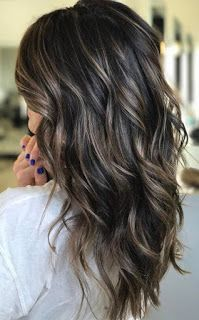 37 Hair Colour Trends 2019 for Dark Skin That Make You Look Younger – Hair Colour Style Perfect dark ash brown balayage. Stylist: (San Jose, CA) 25 Best Warm Black Hair Color Examples You Can Find Brown Hair Balayage, Hair Color Balayage, Dark Balayage, Dark Brown Hair With Blonde Highlights, Dark Hair With Lowlights, Subtle Balayage Brunette, Dark Highlighted Hair, Dark Brown Hair With Low Lights, Dark Brown Hair With Highlights Balayage