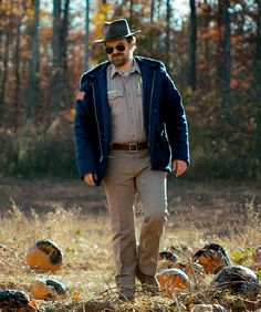 David Harbour as Jim Hopper in Stranger Things season 2