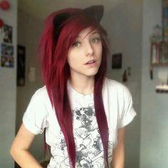 Alex like a cute kitty!! X3