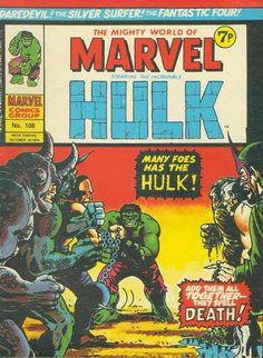 Marvel UK, Mighty World of Marvel #108.