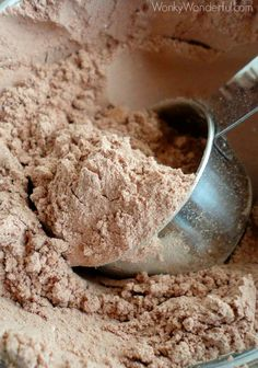 Hot Cocoa Mix Recipe - Homemade Hot Chocolate - wonkywonderful.com