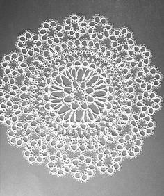 Tatted Doily by Sharlene W, via Flickr