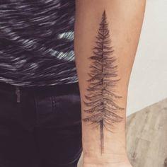Et un #avantbras un ! #douglas #pin #sapin #tatouage #tattoo #forearm #sam #tim #saintponsdethomieres