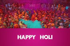 Let the colors of Holi spread the message of peace and happiness