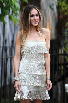 Sara Jessica Parker...such a fun dress