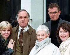 As Time Goes By, the story of love lost and love found again... a cute show !  Starring Judi Dench and Geoffrey Palmer