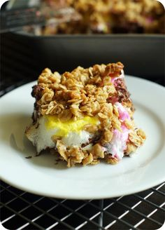 peeps show s'mores bars ... great for leftover or half-price Peeps!