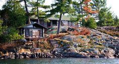 Pardsay Crag Island - Ontario, Canada