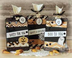 Reverse Confetti | Spooky Cuties, Spooky Sentiments, Lighthearted Letters [Halloween Tags]