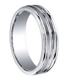 Platinum men wedding ring