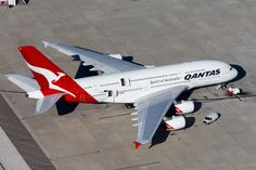 Qantas A380, Airbus A380, Emirates Airbus, Air Photo, Double Deck, Wide Body, Public Transport, Airplanes, Thunder