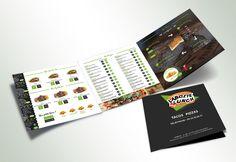 Brochure de menu La boite à Lunch