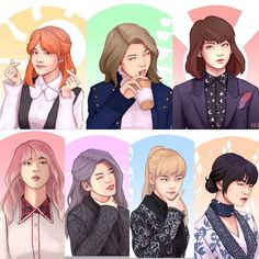 This is so cute bts- Blood Sweat and Tears girl ver.