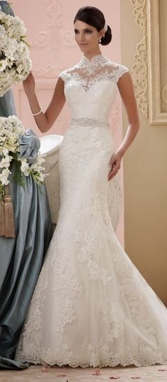 David Tutera for Mon Cheri Spring 2015 Bridal Collection | bellethemagazine.com