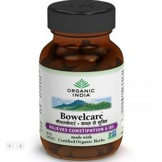 10 X Organic India Bowelcare - 60 Capsule / Pack - Fresh Stock - Fast Shipping #OrganicIndia