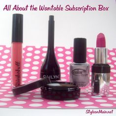 All about the Wantable Makeup Subscription box