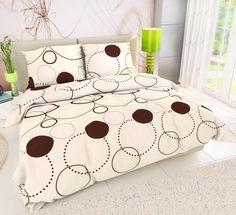Pościel bawełniana Tristan, 220 x 200 cm, 2 szt. 70 x 90 cm Cotton Bedding, Linen Bedding, Bed Linen, French Bed, Comforters, Blanket, Furniture, Home Decor, Linen Sheets