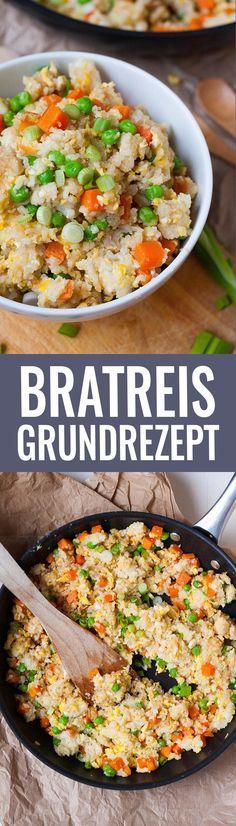Bratreis Grundrezept. Schnell, einfach und verdammt gut - Kochkarussell.com