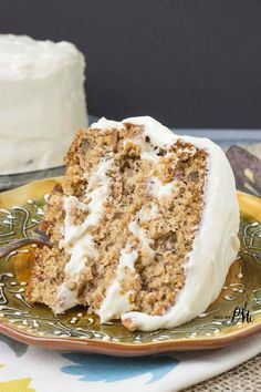 The Best Old Fashioned Banana Layer Cake recipe with Cream Cheese Frosting! This cake is amazing!