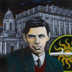 Original Portrait Painting by Antoon Knaap Easter Rising, Original Art, Original Paintings, Revolutionaries, Buy Art, Documentaries, Saatchi Art, Irish, Canvas Art