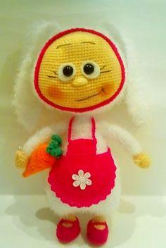Бонни-Зая - МОИ ВЯЗАЛКИ - Галерея - Форум почитателей амигуруми (вязаной игрушки)