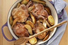 Find the recipe for Pork Chops with Pears and Cider and other  recipes at Epicurious.com