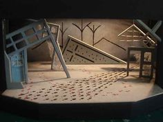 The Red Shoes. Norfox/Library Theatre Company. Scenic design by Lara Booth. 2009