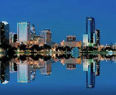 College Park Orlando, Lake Eola, Reflection Photos, City Streets, Cities, City