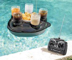 Excalibur Electronics Radio-Controlled Pool Snack Float