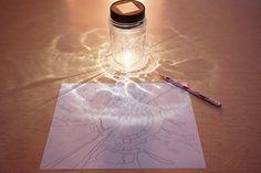 Mason Jar Drawing Prompt for Kids  |  TinkerLab.com