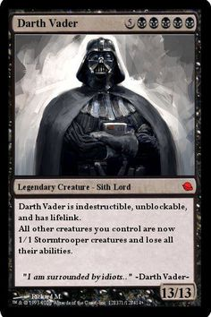 "When ""Magic: The Gathering"" and ""Star Wars"" collide."