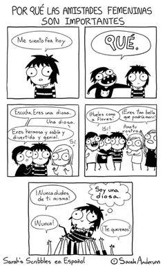 Sarah's Scribbles - Friends