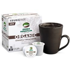 We're proud to announce NEW Green Mountain Coffee Organics K-Cup pods! We will be launching four new Fair Trade Certified and carefully sourced varieties. Coffee Creamer, Coffee Cups, Espresso Latte, Green Mountain Coffee, Arabic Coffee, Coffee Varieties, Coffee Tasting, K Cups, New Green