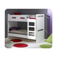 Lit superposé enfant Eden 90x190 cm MA CHAMBRE D'ENFANT - Lit mezzanine, superposé