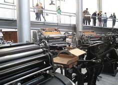 letterpress! oh to study typography in Rome this summer!