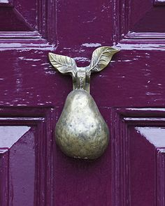asiwaswalkingallalone:  Wisbech Door Knocker by Linton Snapper on Flickr.