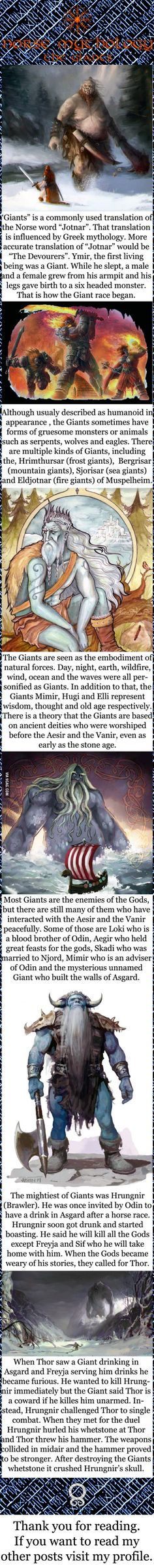 Norse mythology - The Giants