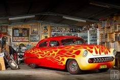 Dave Hart's 1953 Chevrolet Lead Sled Sedan by HoskingIndustries