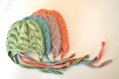 PDF Knitting Pattern to Knit Your Own Hat at Home - Little Clover Earflap Hat NB to 4 Years